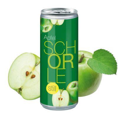 """250 ml Apfelschorle """"still"""" - Body Label (Pfandfrei) SA0001200 bedrucken"""