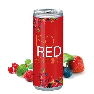 250 ml Iso Drink Redberries - Body Label (DPG) SA0017500 bedrucken
