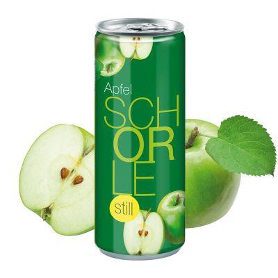 "250 ml Apfelschorle ""still"" - Fullbody (Pfandfrei) SA0001300 bedrucken"
