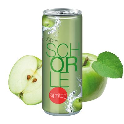 """250 ml Apfelschorle """"Spritzig"""" - Fullbody transp. (DPG) SA0000900 bedrucken"""