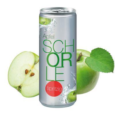 """250 ml Apfelschorle """"Spritzig"""" - No Label Look (DPG) SA0001000 bedrucken"""
