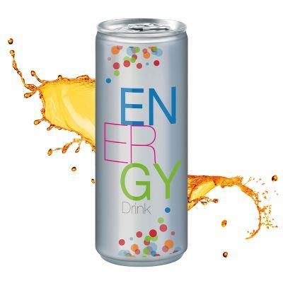250 ml Energy Drink - No Label Look (DPG) SA0009000 bedrucken