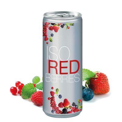250 ml Iso Drink Redberries - No Label Look (DPG) SA0017800 bedrucken
