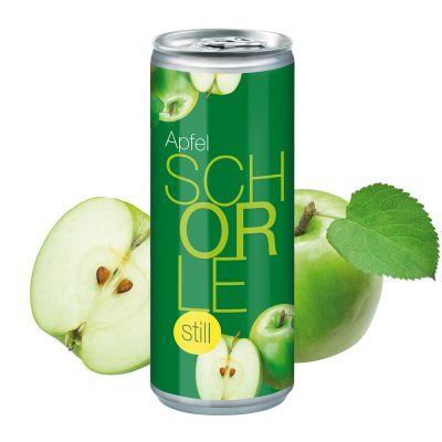 """250 ml Apfelschorle """"still"""" - Smart Label (Pfandfrei) SA0001600 bedrucken"""