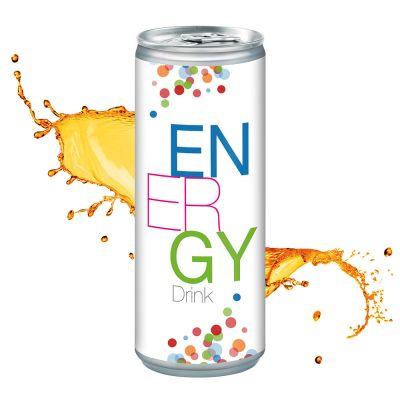 250 ml Energy Drink - Smart Label (DPG) SA0009100 bedrucken