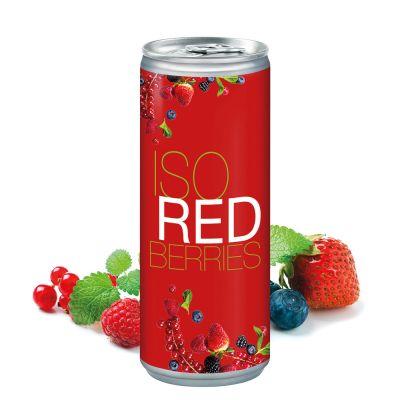 250 ml Iso Drink Redberries - Smart Label (DPG) SA0017900 bedrucken