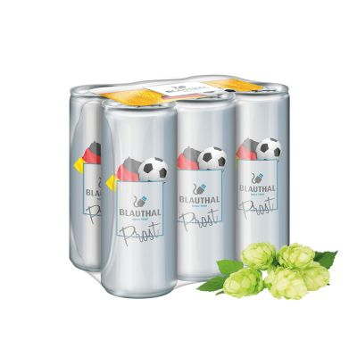 250 ml Bier - Fullbody transp. - Sixpack (DPG) SA0002700 bedrucken