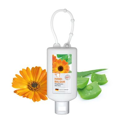 """50 ml Bumper frost - Handbalsam """"Ringelblume - Aloe Vera"""" - Body Label SA0012900 bedrucken"""