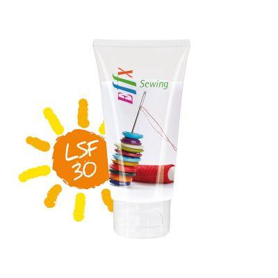 50 ml Tube mit Klappdeckel, kristallklar - Sonnenmilch LSF 30 - RealityPrint SA0022300 bedrucken