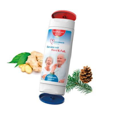 DuoPack 11: Handbalsam Ingwer-Limette + Fußbalsam (Body Label, 2 x 50 ml) SA0005500 bedrucken
