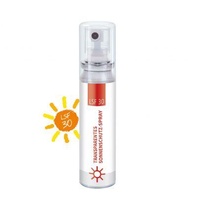 20 ml Pocket Spray - Sonnenschutzspray, transp. LSF 30 - Body Label SA0023000 bedrucken