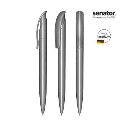 senator® Challenger Polished Druckkugelschreiber dunkelgrau SE0001602