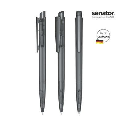 senator® Dart Clear Druckkugelschreiber grau SE0003103