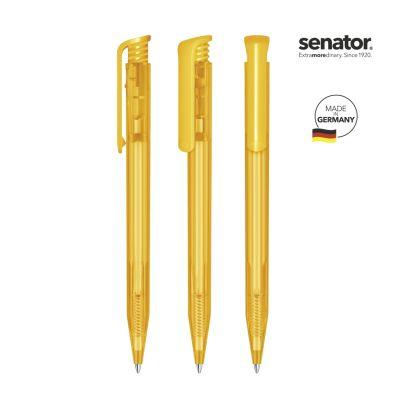 senator® Super Hit Clear Druckkugelschreiber gelb SE0012905