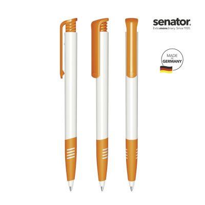 senator® Super Hit Polished Basic SG Druckkugelschreiber weiß-orange SE0013402