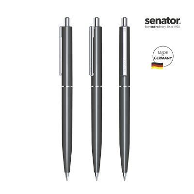 senator® Point Polished Druckkugelschreiber grau SE0011203