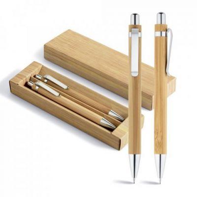 GREENY. Set mit Kugelschreiber und Minenbleistift natur ST0005900