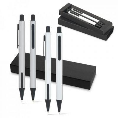 HUDSON. Schreibset mit Kugelschreiber und Minenbleistift ST0009100