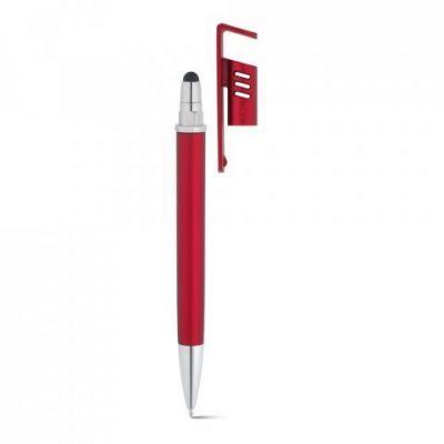 TECNA. Kugelschreiber mit Handyhalterung rot ST0013702