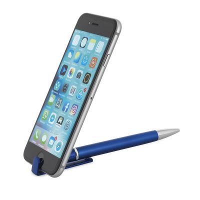TECNA. Kugelschreiber mit Handyhalterung dunkelblau ST0013703