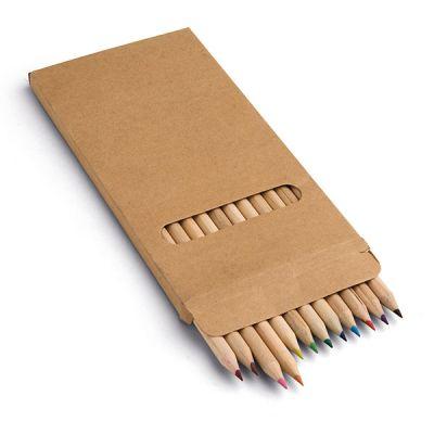 Buntstift Schachtel mit 12 Buntstiften bunt ST0094600