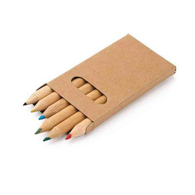 Buntstift Schachtel mit 6 Buntstiften bunt ST0094800