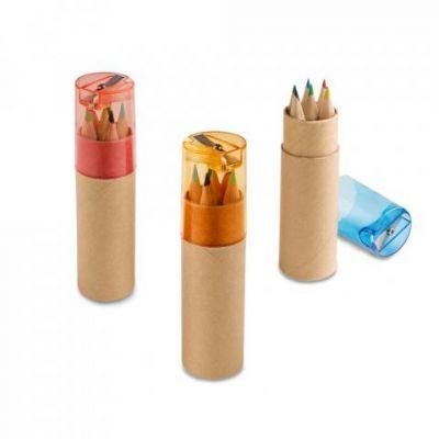 Buntstift Schachtel mit 6 Buntstiften ST0014900