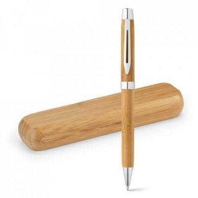BAHIA. Umweltfreundliches Kugelschreiber natur ST0015500