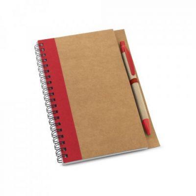 Notizbuch rot ST0047203