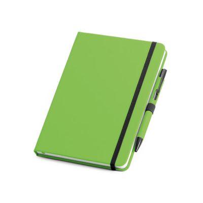 Set Kugelschreiber und Notizblock hellgrün ST0049005