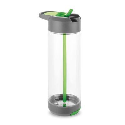 Trinkflasche mit Handyhalterung hellgrün ST0060604