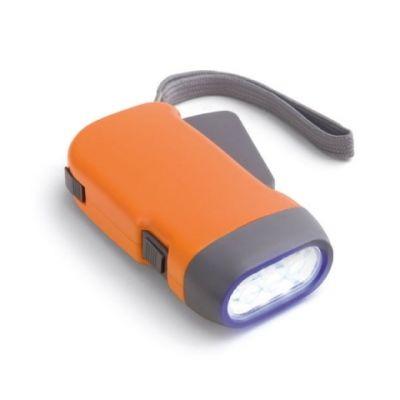 Dynamo Taschenlampe orange ST0062902