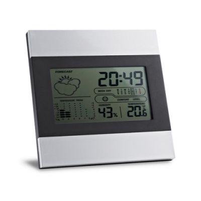 Digitale Wetterstation silber ST0066600