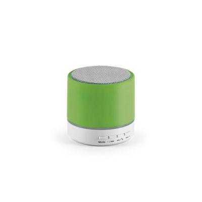 Lautsprecher mit Mikrofon hellgrün ST0068506
