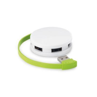 USB Hub 2'0 hellgrün ST0071405