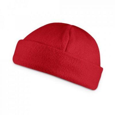 Fleece Mütze rot ST0082803