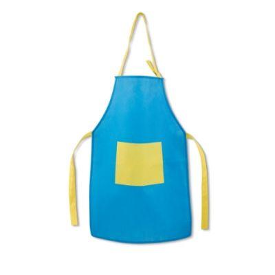 Schürze für Kinder hellblau ST0089402