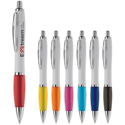 Kugelschreiber Hawaï weiß LT80432