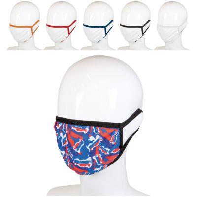 Wiederverwendbare Gesichtsmaske mit all-over Druck LT91333