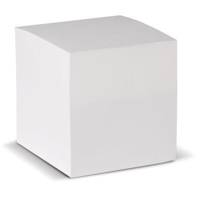 Quadratischer Zettelblock weiß 90x90x90mm LT91700