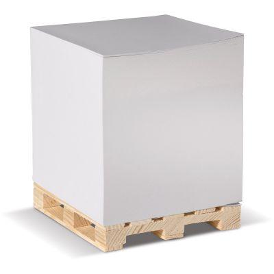 Zettelblock auf Holzpalette LT91805