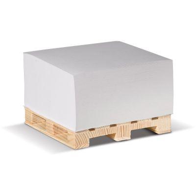 Zettelblock auf Holzpalette LT91815