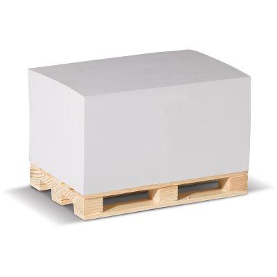Zettelblock auf Holzpalette 120x8x60mm LT91845