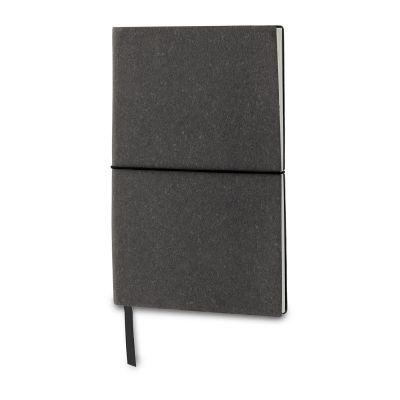 Notizbuch mit Einband aus recycelten Leder LT92521