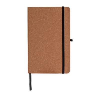 Hardcover-Notizbuch mit Einband aus recycelten Leder DIN A5 LT92522