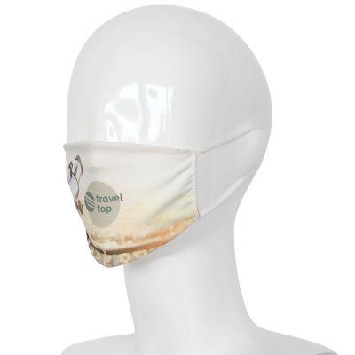 Wiederverwendbare Gesichtsmaske Sublimation All-Over Made in Europe LT93961