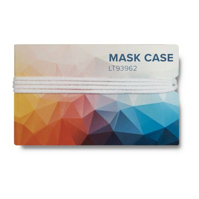 Mundmasken Etui mit Full-Color-Print LT93962