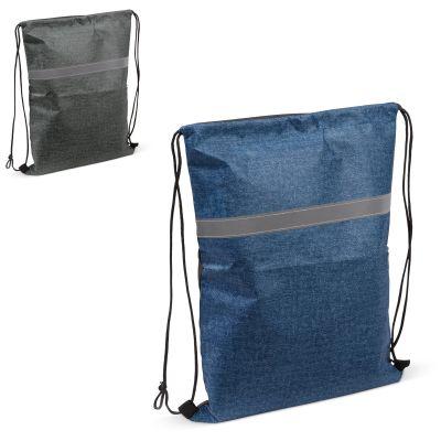Kordelzugtasche mit Reflexstreifen 80g/m² LT95165