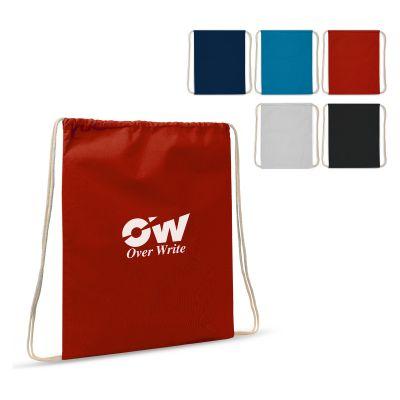 Baumwollbeutel mit Kordelzug OEKO-TEX® Baumwolle 35x45 LT95205