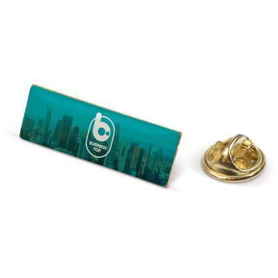 Metall Pin rechteckig LT99742